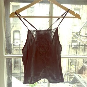 Intimately FP Open-Backed Crop Top